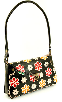 Chapati Shoulder Bag - 60s Flowers